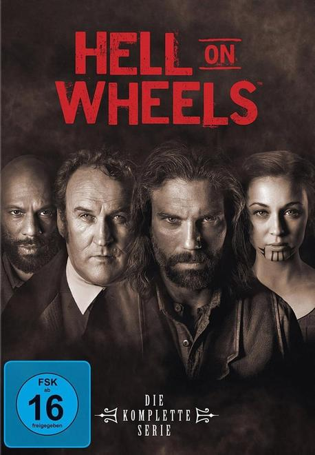 Hell On Wheels - Staffel 1-5 DVD-Box (DVD)