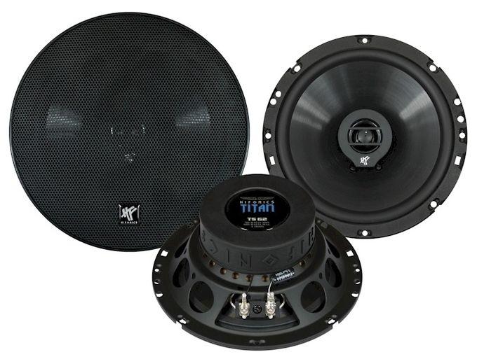 TS62 Auto-Lautsprecher 2-Wege Koaxial-System 16,5cm 90/180W