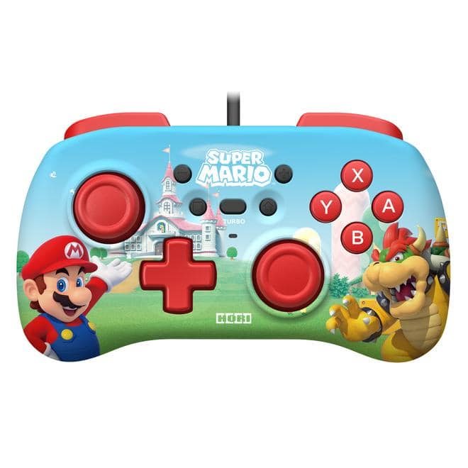 Horipad Mini (Super Mario) Gamepad Nintendo Switch kabelgebunden