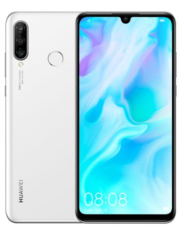 """P30 Lite Smartphone 15,621cm/6,15"""" Android 48+8+2+24MP 128GB Weiß"""