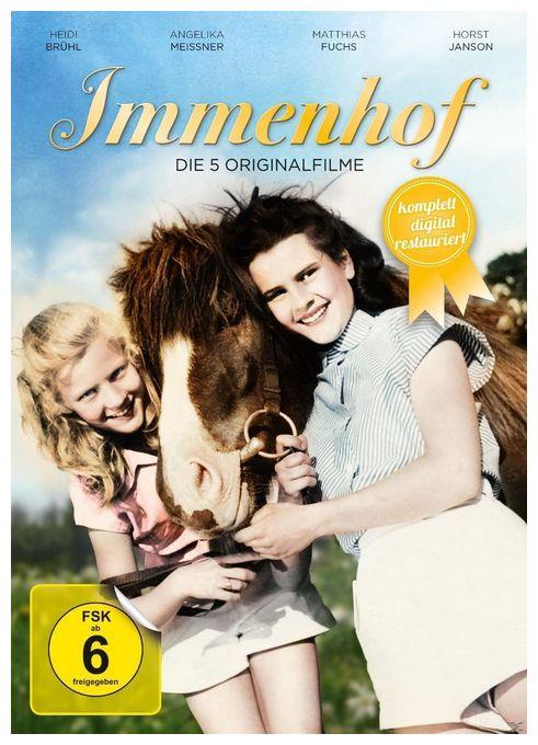 Immenhof - Die 5 Originalfilme DVD-Box (DVD)