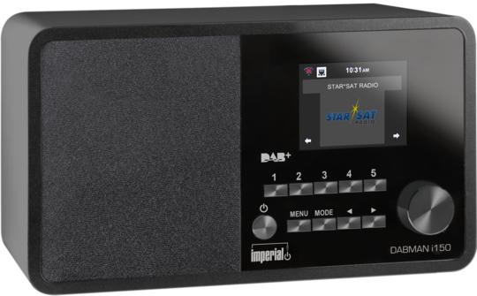 Dabman i150 Internetradio DAB+/RDS UKW USB AUX-IN WLAN