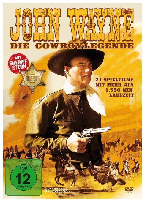 John Wayne - Die Cowboylegende (DVD)