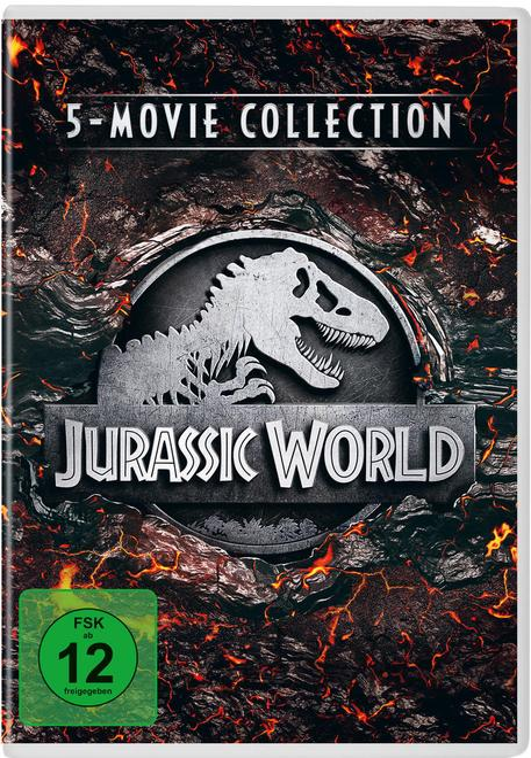 Jurassic World - 5-Movie Collection DVD-Box (DVD)