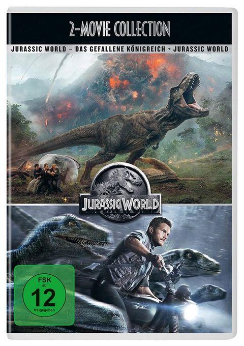 Jurassic World / Jurassic World: Das gefallene Königreich - 2 Disc DVD (DVD)