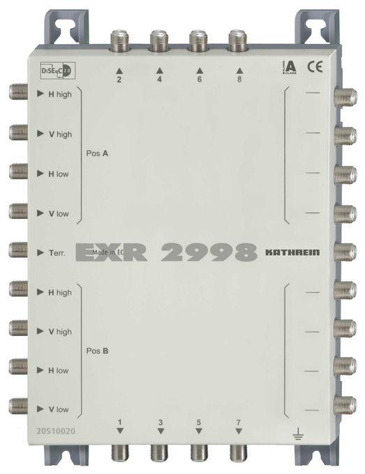 EXR 2998 Multischalter Durchgang 9 auf 8