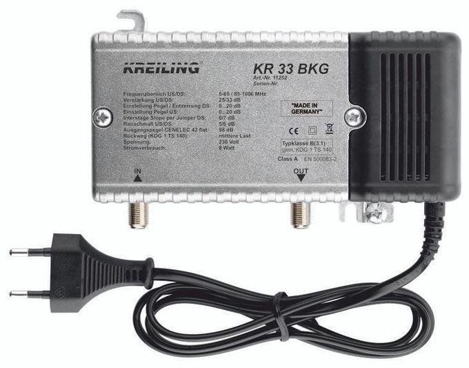 KR 33 BKG BK Verstärker mit Gussgehäuse