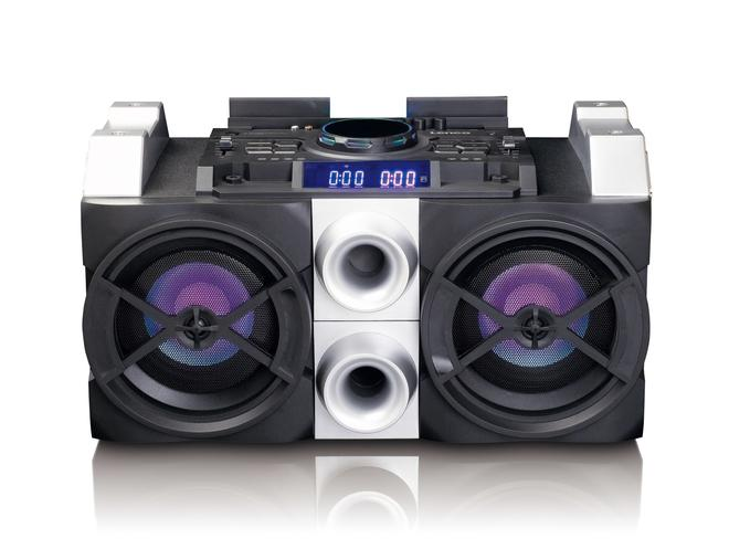 PMX-150 High Power DJ Mixer System Bluetooth USB FM Partylicht