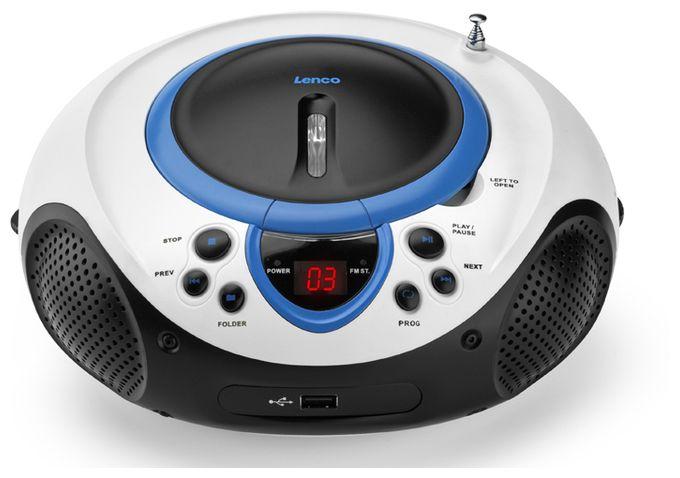 SCD-38 USB tragbares UKW-Radio mit CD/MP3-Player und USB-Anschluss