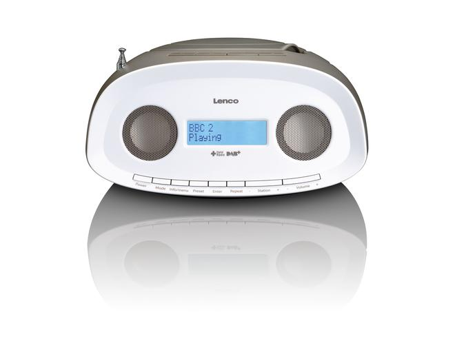SCD-69 tragbare Boombox mit DAB+ Radio CD/MP3-Player USB AUX-IN