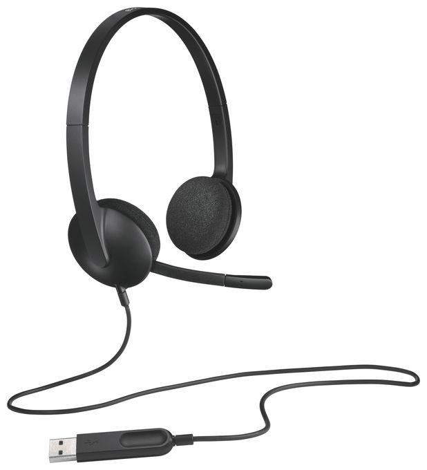 H340 Ohraufliegender Kopfhörer kabelgebunden