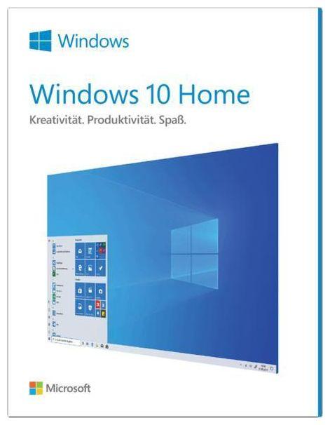 Microsoft Windows 10 Home (32-/64-Bit, USB-Laufwerk) (PC)