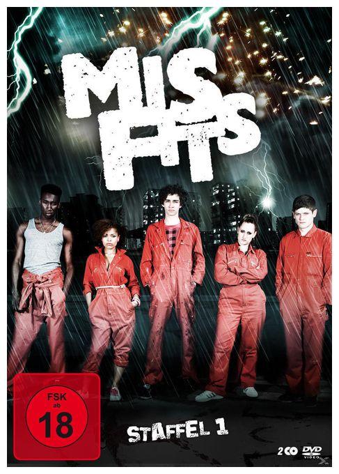 Misfits - Staffel 1 (DVD)