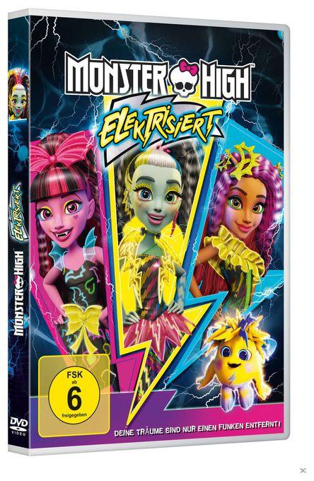 Universal Pictures Monster High Elektrisiert Dvd Von Expert Technomarkt