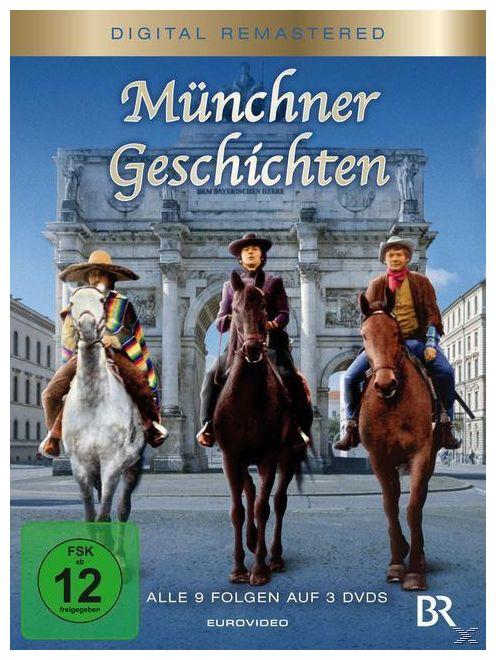 Münchner Geschichten Folgen 1-9 Digital Remastered (DVD)
