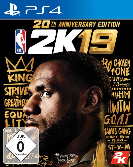 NBA 2K19 20th Anniversary Edition (PlayStation 4)