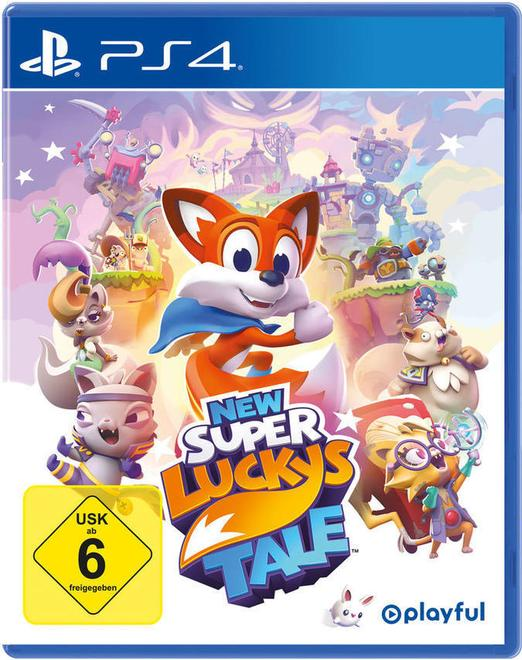 New Super Luckys Tale (PlayStation 4)