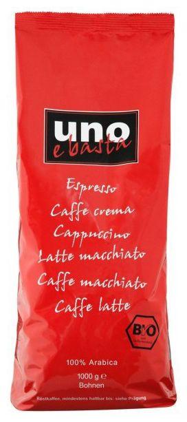 Uno e basta 1000g 100% Arabica Kaffeebohnen