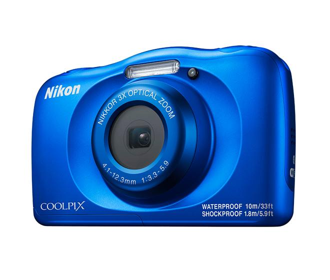 "Coolpix W150 Kompaktkamera 6,7cm/2,7"" 14,17MP 6-fach Zoom Full-HD Blau"