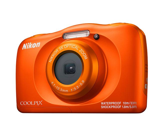 "Coolpix W150 Kompaktkamera 6,7cm/2,7"" 14,17MP 6-fach Zoom Full-HD Orange"