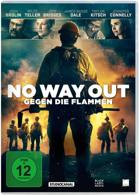No Way Out - Gegen die Flammen (DVD)