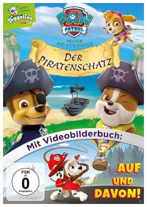 Paw Patrol – Der Piratenschatz (DVD)