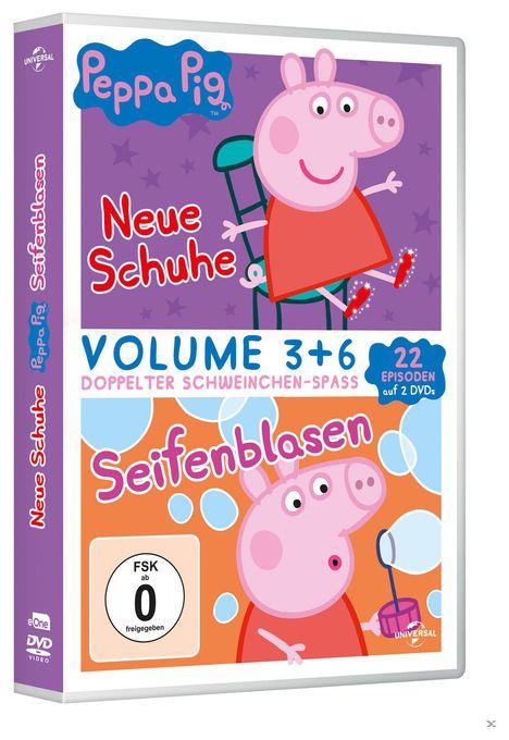Peppa Pig - Neue Schuhe & Seifenblasen - 2 Disc DVD (DVD)