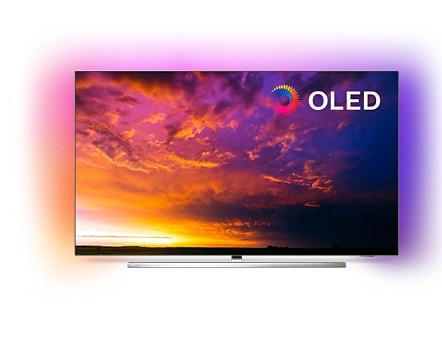 "55OLED854/12 139 cm (55"") 4K UHD OLED-Android-TV 3-Seiten-Ambilight"