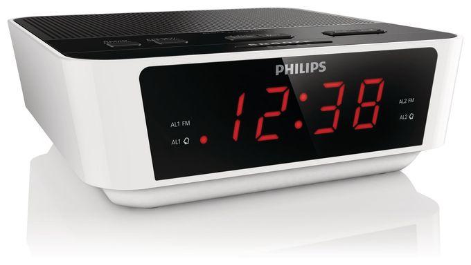 Radiowecker mit digitalem Tuner und Dual Alarm AJ3115/12