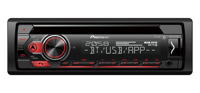 DEH-S310BT Autoradio 4x50W UKW CD USB AUX-IN Bluetooth Mikrofon