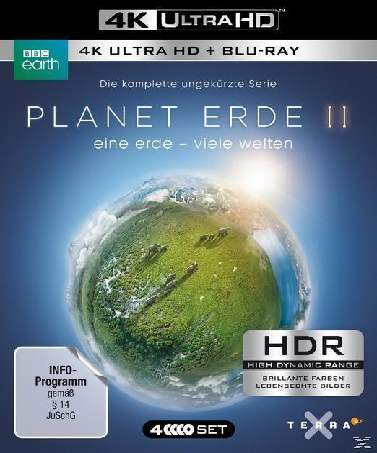 Planet Erde II: Eine Erde - viele Welten (4K Ultra HD BLU-RAY + BLU-RAY)