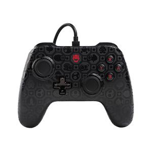 Wired Controller Bowser Shadow Analog / Digital Gamepad Nintendo Switch kabelgebunden