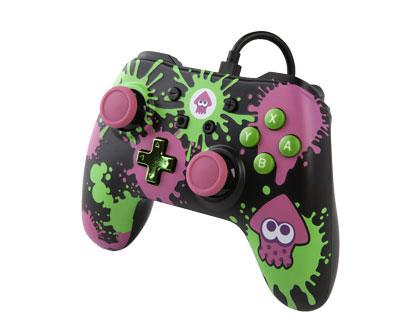 Wired Controller Splatoon 2 Analog / Digital Gamepad Nintendo Switch kabelgebunden