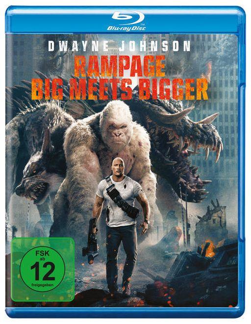 Rampage: Big Meets Bigger (BLU-RAY)