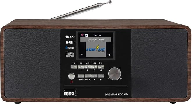 Dabman i200 CD Internetradio DAB+ UKW AUX-In USB