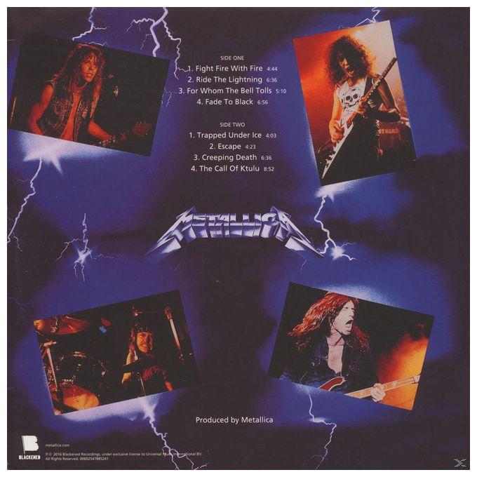 Ride The Lightning (Remastered 2016) (Metallica)