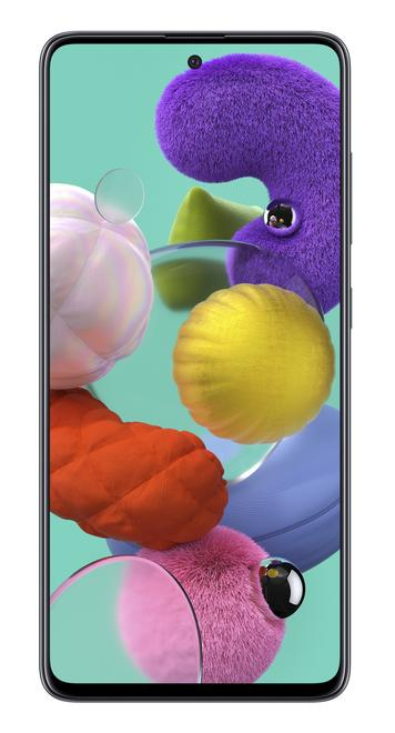 Galaxy A51 4G Smartphone 16,5 cm (6.5 Zoll) 128 GB 2,3 GHz Android 48 MP Vierfach Kamera Dual Sim