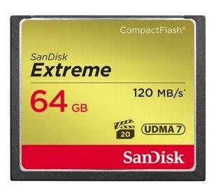 SDCFXSB-064G-G46 Extreme CompactFlash Speicherkarte 64GB