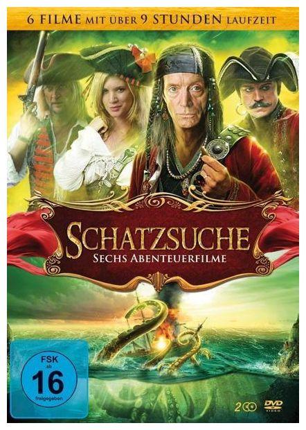 Schatzsuche: Sechs Abenteuerfilme - 2 Disc DVD (DVD)