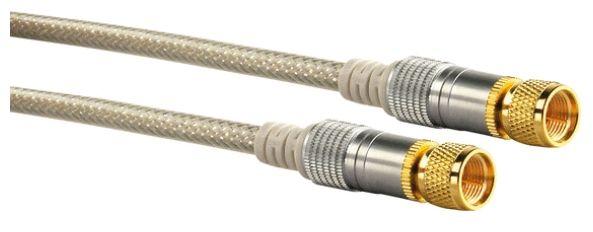 KVCHD50 532 SAT Anschlusskabel (110dB) F-Stecker > F-Stecker 5m