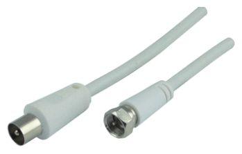 KVCK163 532 SAT/Antennen Adapterkabel F-Stecker > IEC Stecker 3m