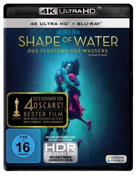 Shape of Water - Das Flüstern des Wassers (4K Ultra HD BLU-RAY + BLU-RAY)