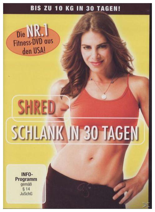SHRED - Schlank in 30 Tagen (DVD)