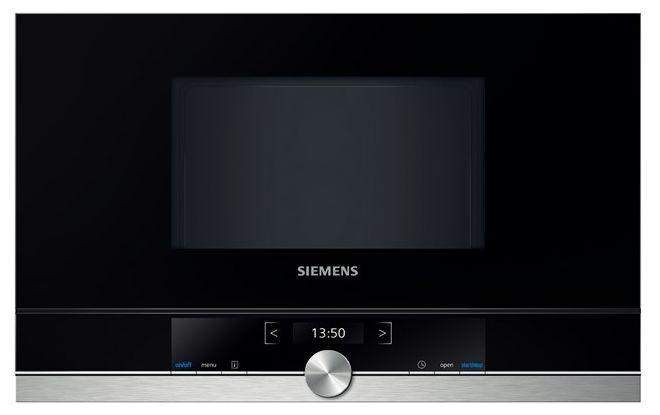 BF634LGS1 38cm Einbau-Mikrowelle 900W 21l cookControl touchControl