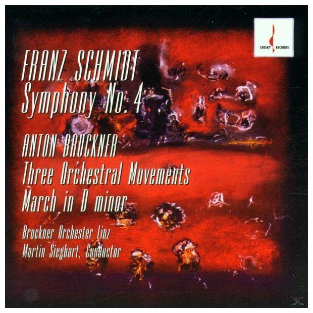Sinfonie 4/Sätze Für Orchester (Bruckner Orch.Linz)