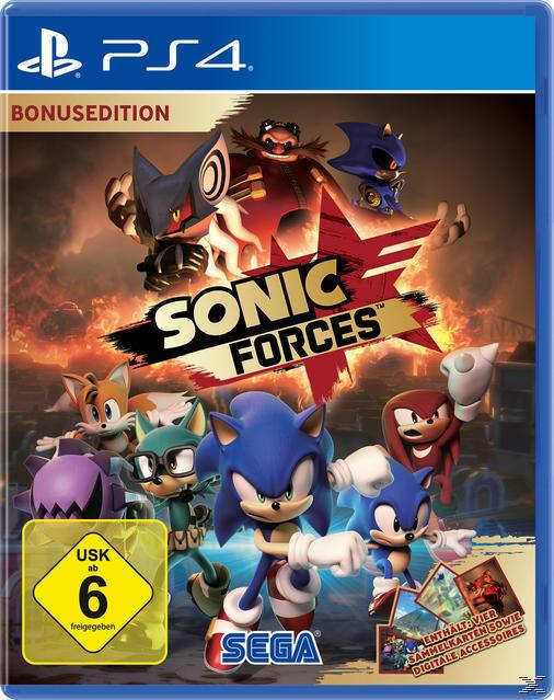 Sonic Forces Bonus Edition (PlayStation 4)