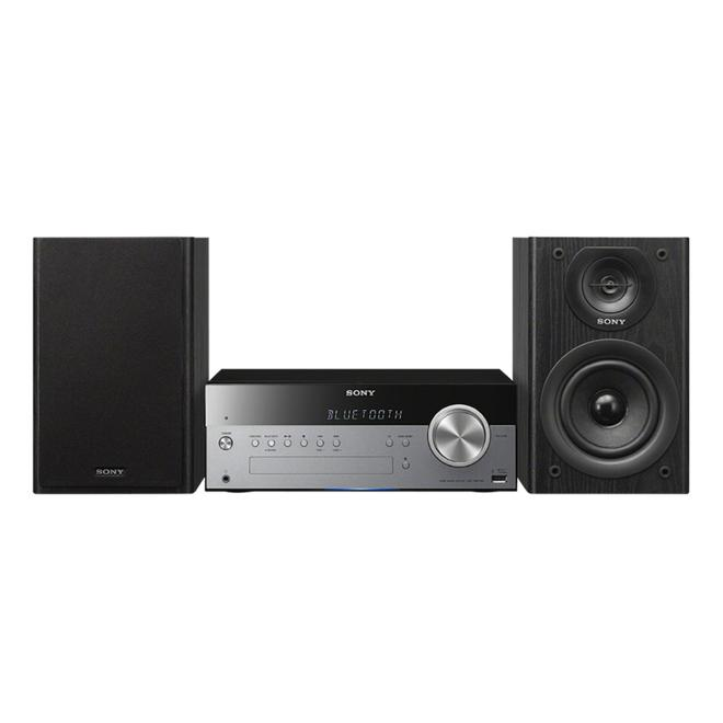 CMT-SBT100B All-in-One Audiosystem 50W UKW/MW CD USB NFC