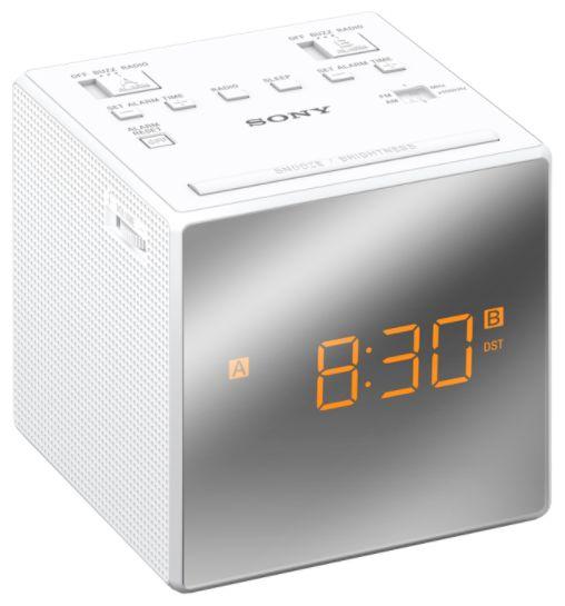 ICF-C1TW Radiowecker UKW Sleep Funktion LED Display