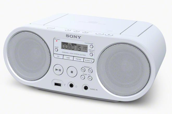 ZS-PS50 Boombox UKW MW USB CD MP3-CD