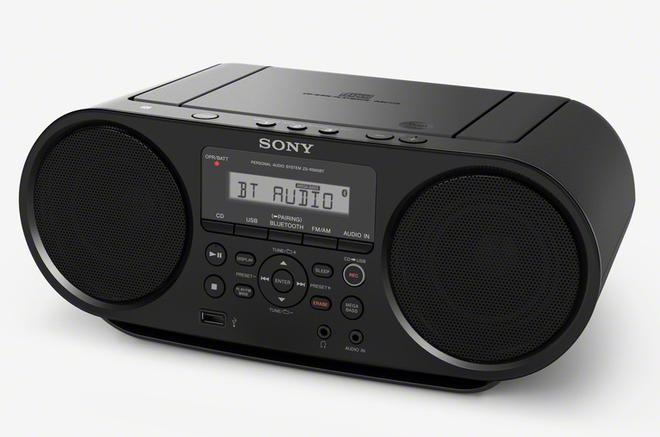 ZS-RS60BT CD-Boombox mit Bluetooth NFC One-touch USB